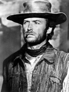A FISTFUL OF DOLLARS, Clint Eastwood, 1964.