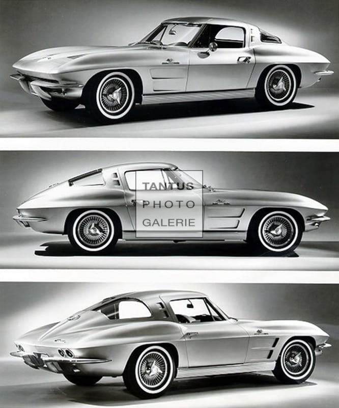 CORVETTE STING RAY-Sport Coupe, 1963