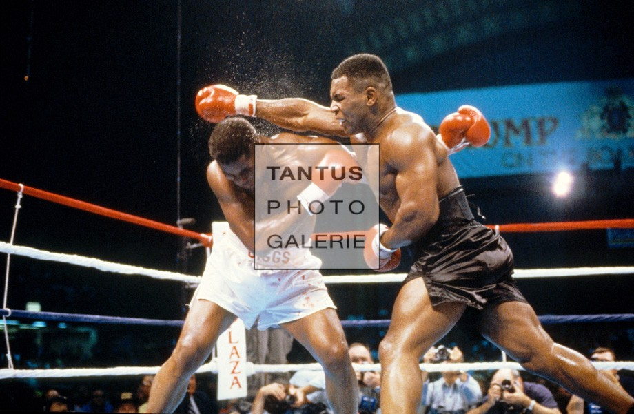 Mike Tyson vs. Tyrell Biggs 1987