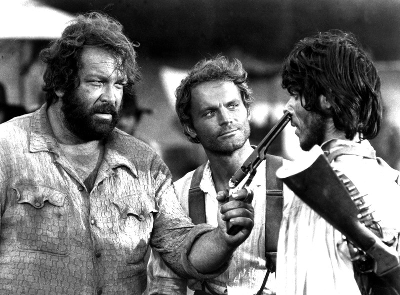 THEY CALL ME TRINITY, Bud Spencer, Terence Hill, 1970