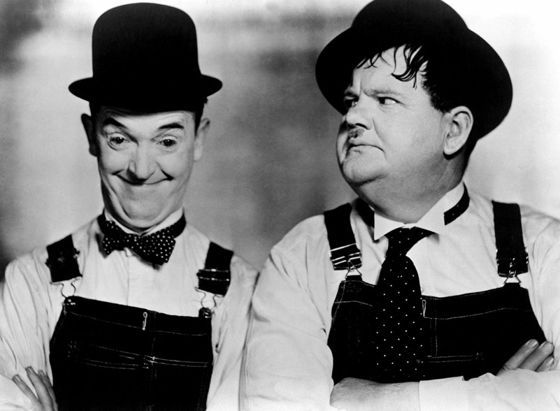 BUSY BODIES, Stan Laurel, Oliver Hardy [Laurel and Hardy], 1933